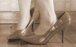 child high heels
